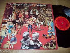 NEAR MINT Band Aid Do They Know It's Christmas? Bowie/Sting/U2/Paul McCartney 12