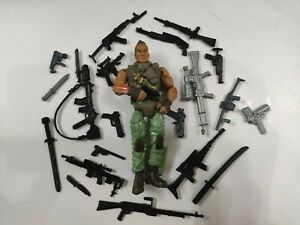 """3.75/"""" Gi Joe  the Corps Soldier #602 with 5pcs Accessorie  Rare Action Figure"""