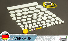 75 Teile Nylon Zahnräder Zahnrad Getriebe Set für Arduino Steppermotoren Motor