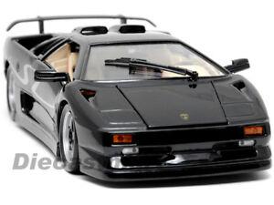 Maisto 1 18 Lamborghini Diablo Sv Diecast Black Ebay
