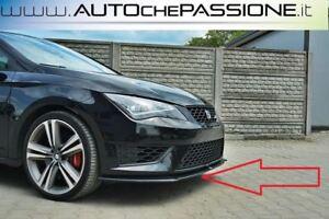 Splitter-Spoiler-anteriore-per-Seat-Leon-5F-FR-e-Cupra-2012-gt-2016-lip-lama