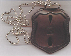 Badge Not Included NYS Court Officer Badge CutOut Neck Hanger//Belt Clip Combo