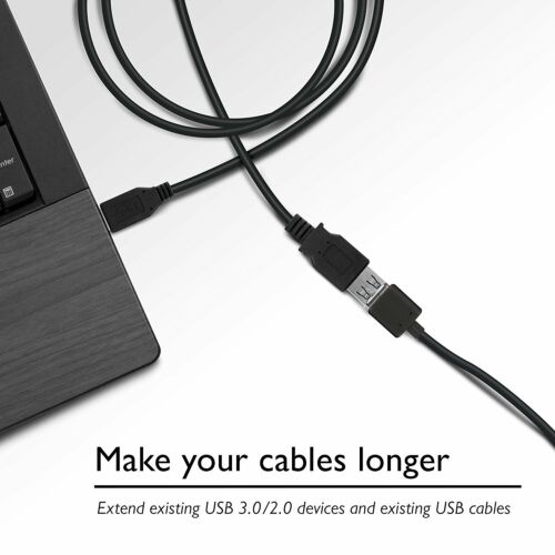 6 Feet USB 3.0 SuperSpeed Male A to Female A Extension Cable USB3-6MF-G 6Ft.
