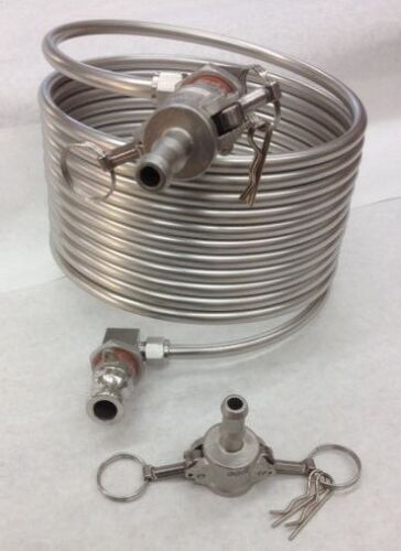 HERMS COIL 25/' WITH FITTINGS /& QUICK DISCONNECTS