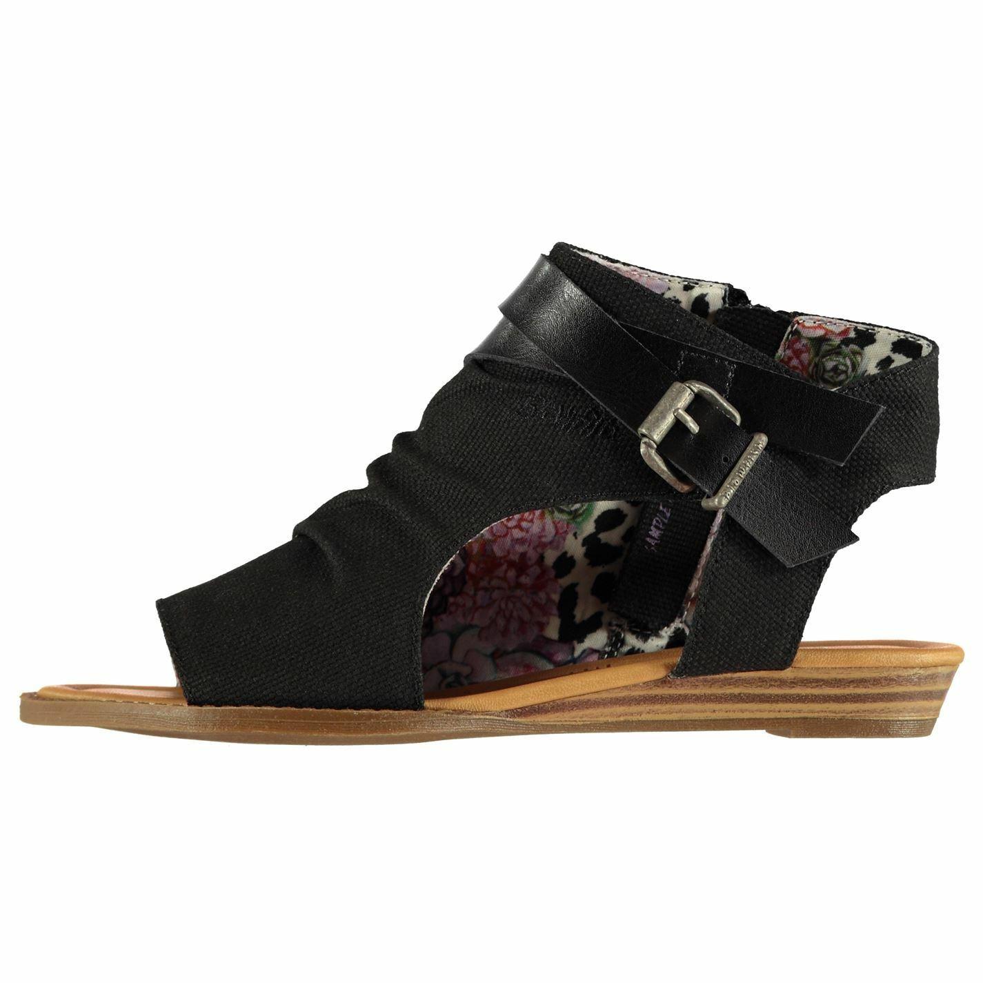 Womens Blowfish Balla Sandals Flat Zip New