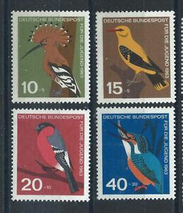 Allemagne-RFA-N-273-76-MNH-1963-Oiseaux