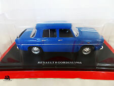 Miniature IXO Auto Vintage Voiture RENAULT GORDINI 1966 Diecast metal