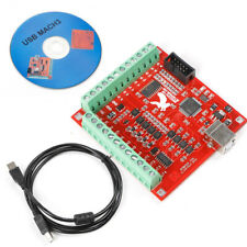 Usb Cnc Controller Card Mach3 Motion Board For Stepper Motor 4 Axis Linkage 24v