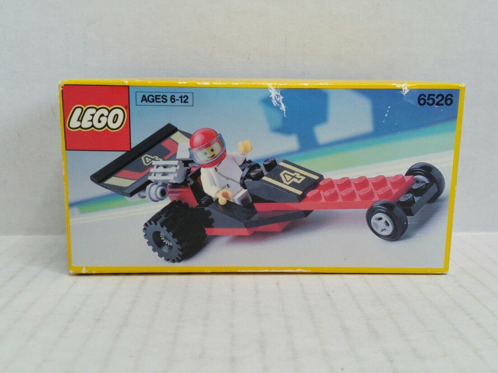 Vintage Lego Red Line Racer Dragster NIB HTF