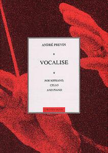 Andre-Previn-Vocalise-For-Soprano-Cello-amp-Piano-Classical-Sheet-Music-Book