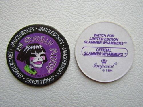 e27 Details about  /Imperial 1994 Slammer Whammers  ~ Janglebones Pog Variants