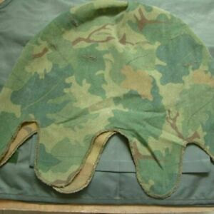 Details about VIETNAM WAR US MITCHELL CAMO REVERSIBLE M1 SOLDIER HELMET  COVER COTTON
