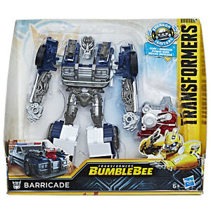 163eeab9d56 Image is loading Transformers-Bumblebee-Energon-Igniters-Nitro -Series-BARRICADE-by-