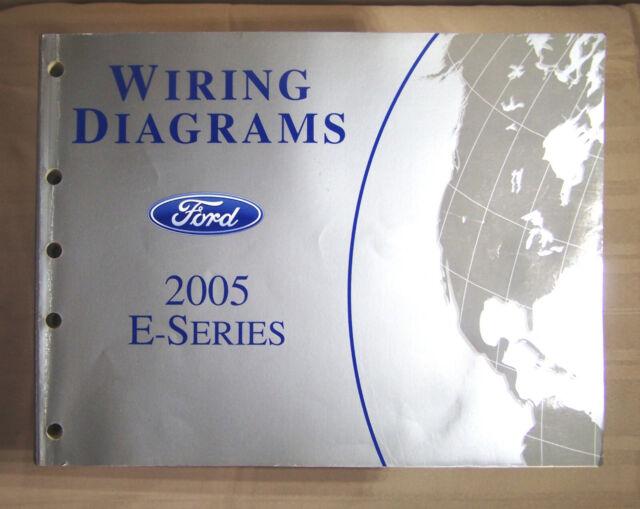 2005 Ford E Series Wiring Diagram Oem Factory Manual