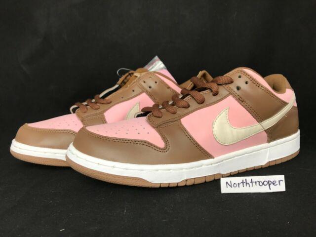 new styles 6f808 1b196 2005 Nike Dunk Low Pro SB STUSSY Shy Pink/Vanilla 304292-671 Sz10/Sz10.5 NIB