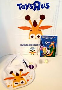 Image Is Loading Geoffrey Babies R Us Baby Bib Toys