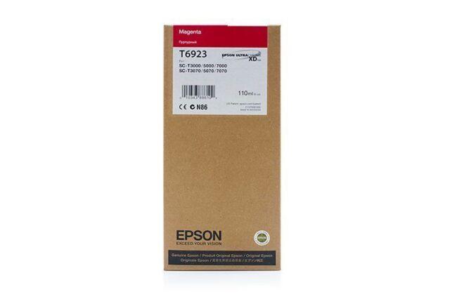 Original Epson T6923 Encre C13T692300 Magenta Mhd 10/2019 A-Ware
