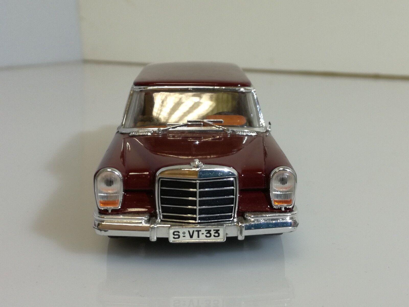 Vitesse 1 43 - Mercedes 600 SEL W140 imousine rouge boreaux
