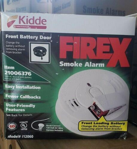 8 PACK KIDDE 12060 Hardwired Smoke Alarm