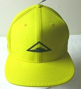 Nike-Mens-Dri-Fit-Pro-Trail-Running-Cap-Hat-Speed-Yellow-Black-adjustable-NWT
