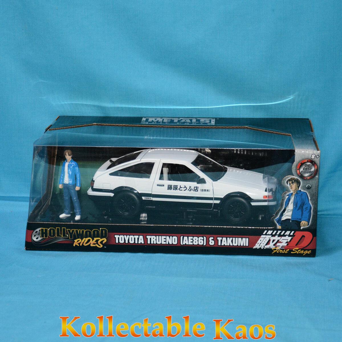 1 24 Jada - Initial D Toyota Treuno AE86 with Takumi Figure