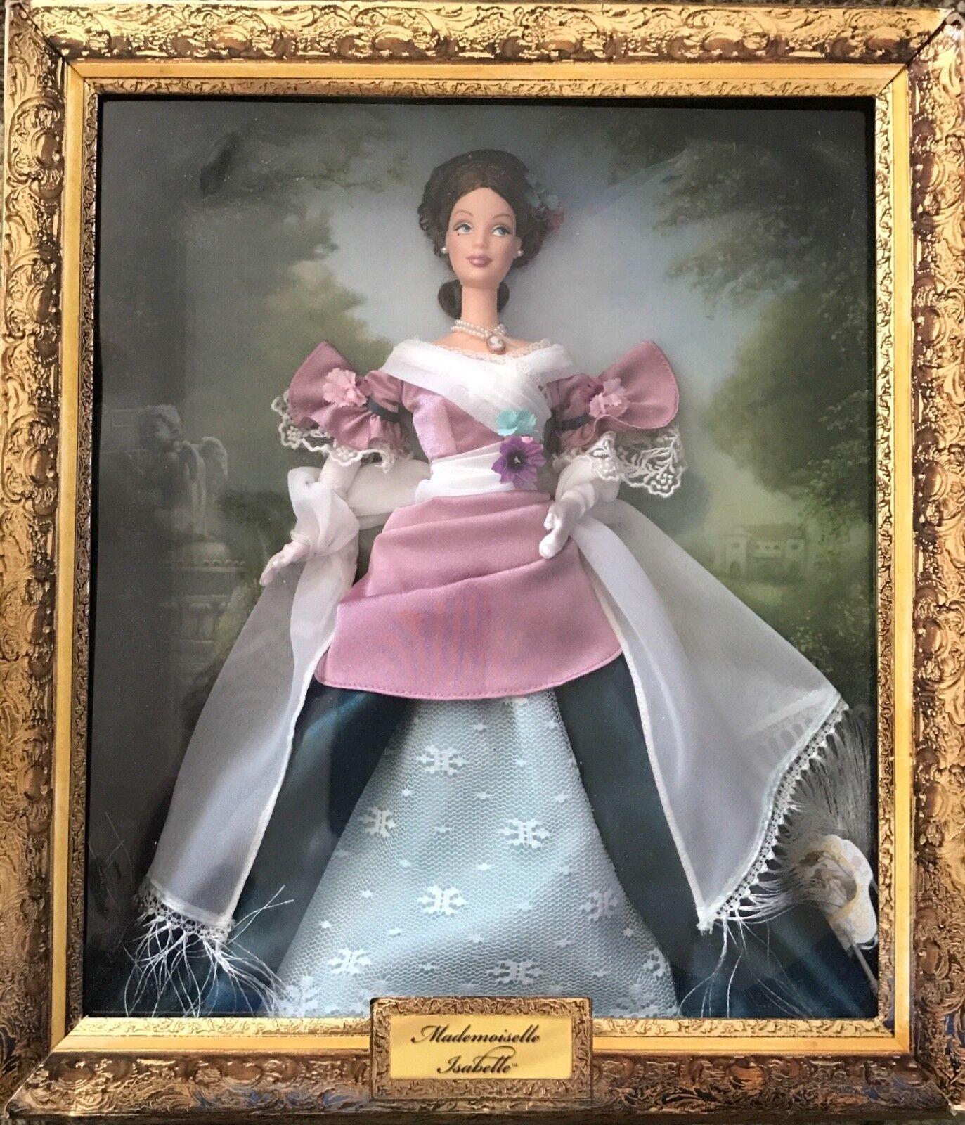 Barbie  Mademoiselle Isabelle el retrato de colección 2001 nunca quitado de la caja