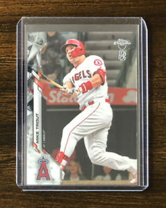 2020 Topps Chrome Ben Baller Edition Mike Trout #1 Los Angeles Angels