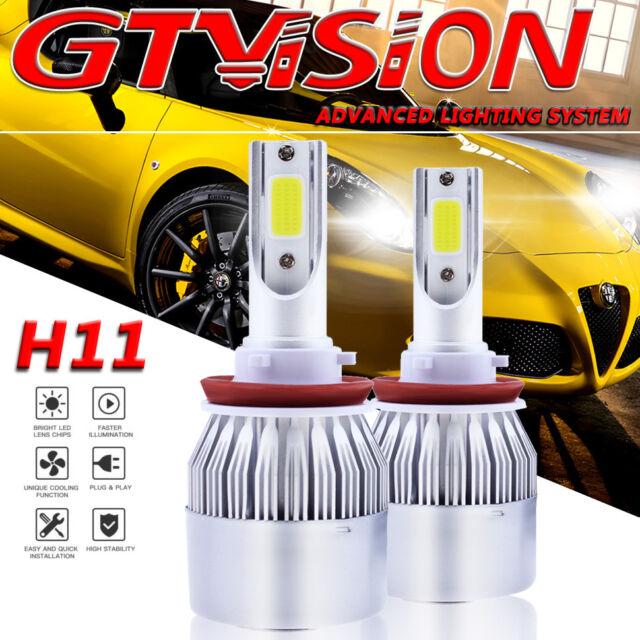 LED Headlight Bulb Conversion KIT Fog Light 1300W 6000K White H11 H9 for Toyota
