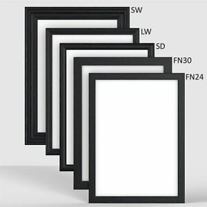 Black-Frame-Picture-Poster-Frame-in-Popular-Styles-and-All-sizes-A1-A2-A3-A4-A5