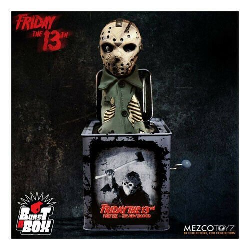 FRIDAY 13 - Jason Voorhees Burst-A-Box Music Box Mezco