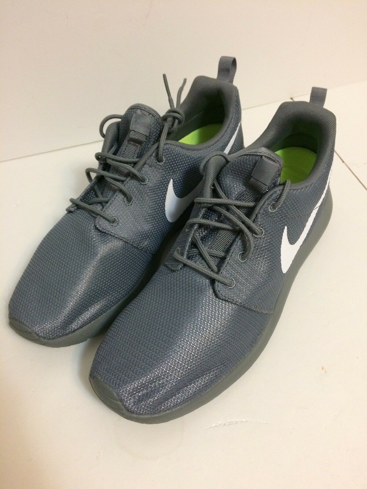 cheap for discount a89a2 f03af Nike Roshe One Cool Grey Grey Grey White shoes Size 9.5 (511881-032)
