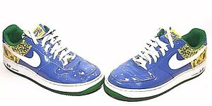 official photos 9eebb 69c75 Image is loading Nike-313983-411-Air-Force-1-Premium-Edition-