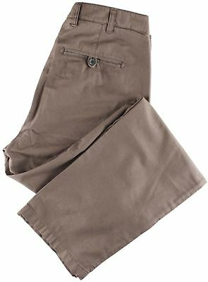 NWT EIDOS by ISAIA beige casual pants luxury Italy IT 52 US 36