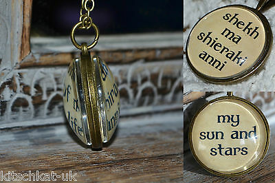 Game of Thrones Dothraki My Sun and Stars Necklace Double Sided