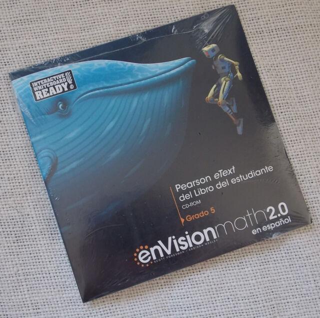 Envision Math 2 0 Grade 5 Student EText Spanish CD ROM Espanol 9780328869558
