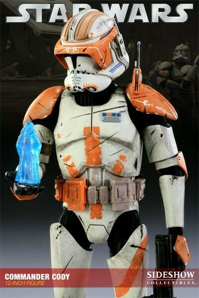 Commander Cody 212th Battalion STAR WARS SIDESHOW Collectibles 1 6 Scale new