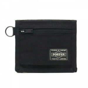 PORTER Yoshida Bag 737-17829 Compact Wallet PORTER HYBRID Black Japan Tracking