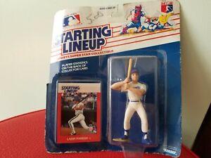 1988 ROOKIE STARTING LINEUP - SLU - MLB - LARRY PARRISH - TEXAS RANGERS