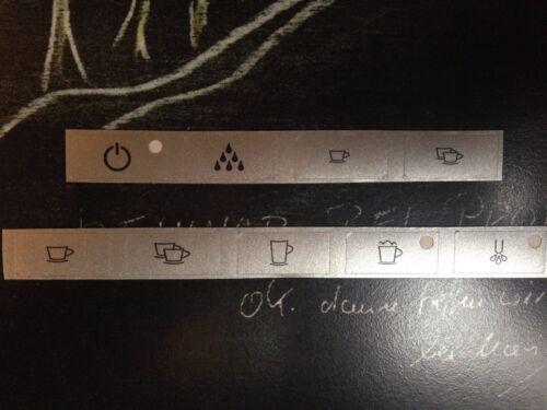 Jura Impressa S95/90/85/S9/X90/95 Tastensymbol Aufkleber Sticker