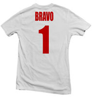 Chile La Roja Hero Tee: Claudio Bravo Four11 Designs