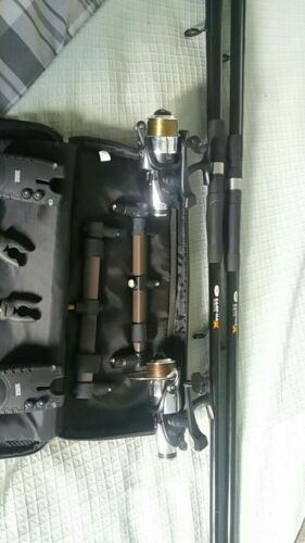 2 rod carp set up
