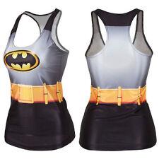 Batman 3D Image Cosplay Dress-up Singlet Top Shirt Print