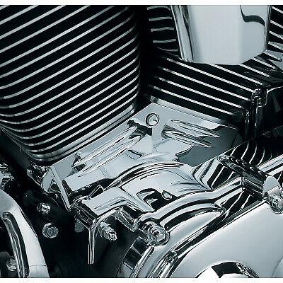 Rebacker Motorcycle Cylinder Base Side Covers Moto Frame Case for Harley Touring Electra Street Glide 2007-2016,Chrome