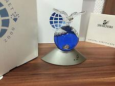 SWAROVSKI Figura Crystal Planet 2000 con imballo originale e certificato (ottimo stato)