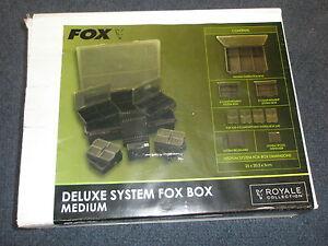 Fox-Royal-systeme-Fox-boite-moyen-Materiel-de-peche-a-la-carpe