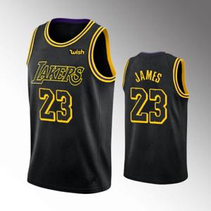 New Men S Los Angeles Lakers Lebron James Black 2020 21 Swingman Jersey Ebay