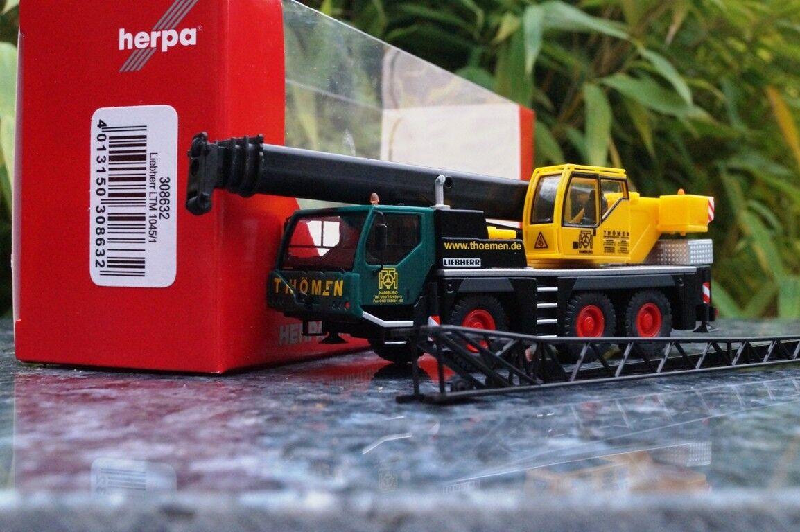 Herpa Liebherr LTM 1045 1 grue mobile  THÖMEN  1 87 308632