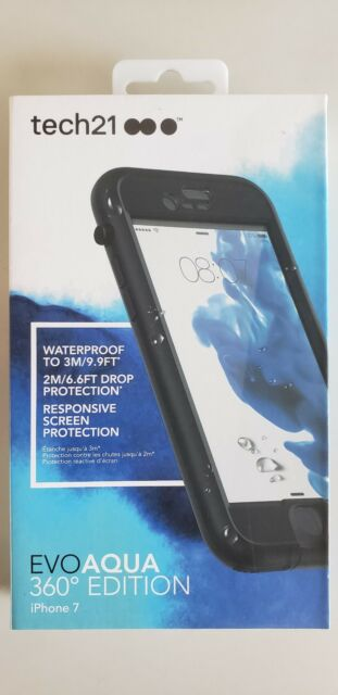 new concept 0a9f7 aa618 Tech21 Evo Aqua 360 Waterproof Case for iPhone 7 in black, white