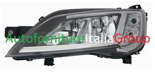 H7 FIAT DUCATO 14/> 2014/> FARO FANALE PROIETTORE ANTERIORE SX P//CROMATA H7