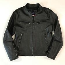 rare MADE IN SF Johnsons leather HonourMark Cafe Jacket S 38 Kangaroo 2400 LOOK